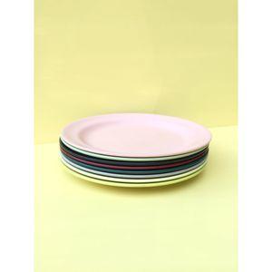 Vintage Mallo Ware 95 plate set 8 melamine plates